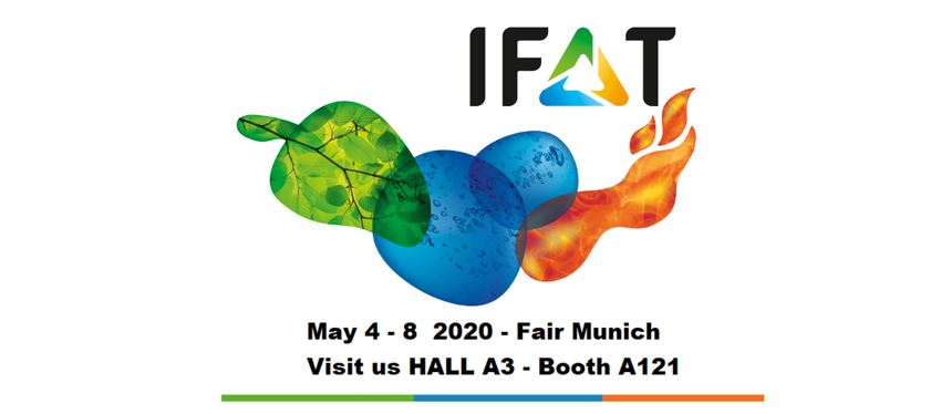 Visit us at IFAT 2020